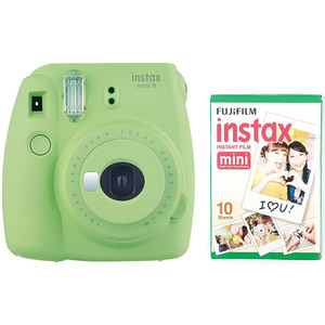 Fujifilm instax mini 9 Instant Camera Green + Film