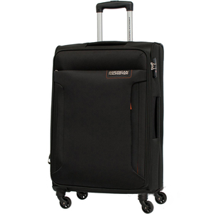 American Tourister Troy 4 Wheel Soft Trolley 68cm Black