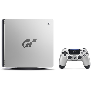 Sony PS4 Slim 1TB White + Gran Turismo Limited Edition