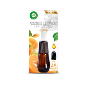 Air Wick Air Freshener Essential Oil Diffuser Refill Mandarin & Sweet Orange 20ml