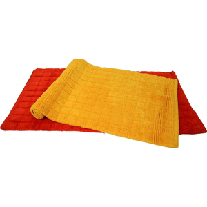 Home Well Bath Mat Cotton WH03 Assorted 1pc