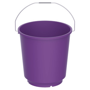 Cosmoplast Bucket EX-50 13Litre Assorted Color 1pc