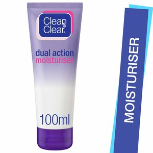 Clean & Clear Moisturiser Dual Action 100ml
