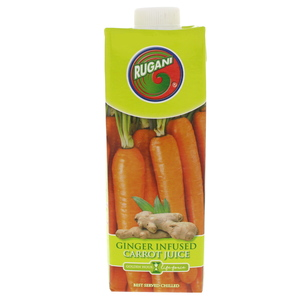 Rugani Ginger Infused Carrot Juice 750ml