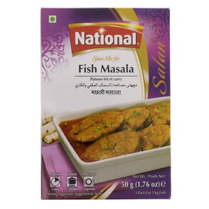 National Fish Masala Spice Mix 50g