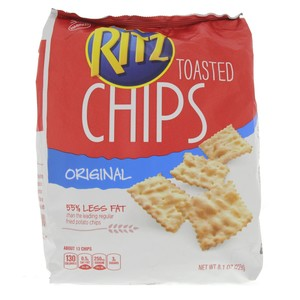 Ritz Toasted Chips Original 229g