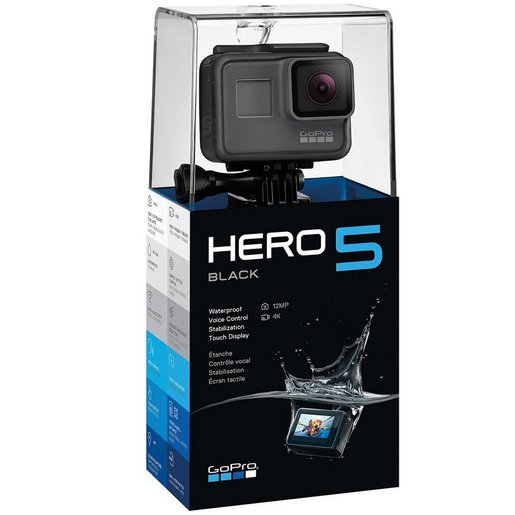 GoPro Hero 5 Camera G02CHDHX502 Black