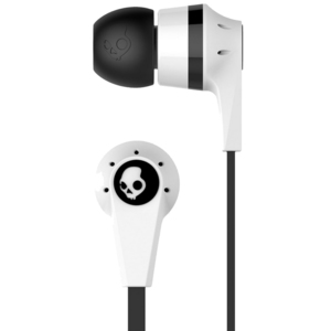 Skullcandy Earphone With Mic INKD White Black