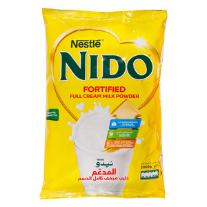 Nido Full Cream Milk Powder Pouch 2kg