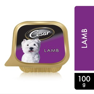 Cesar Lamb Wet Dog Food 100g