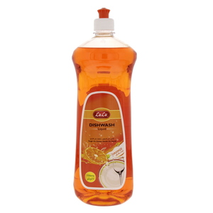 Lulu Dish Wash Liquid Premium Orange 1Litre
