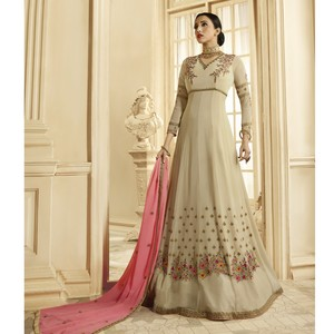 Semi Stitched Women's Anarkali Suit Zubeda Seher 14904