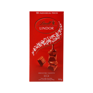 Lindt Lindor Swiss Milk Chocolate 100g