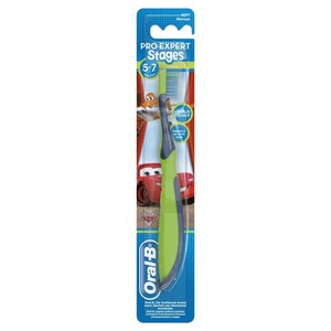 Oral-B Stages 3 (5 - 7 years) Manual Kids Toothbrush Assorted Color