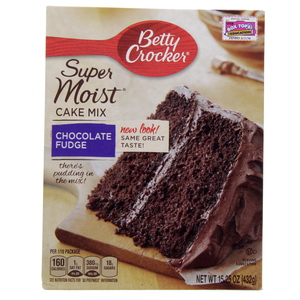 Betty Crocker Super Moist Cake Mix Chocolate Fudge 432 Gm
