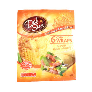 Deli Sun Corn Wraps 6pcs 360g