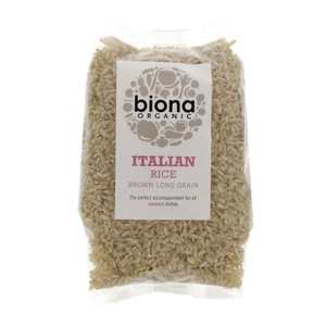 Biona Organic Long Grain Italian Brown Rice 500g