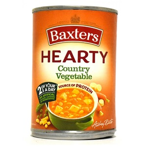 Baxters Hearty Country Vegetable Soup 400g