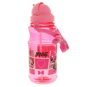 Minnie Mouse Water Bottle Transparent 112-34-0912