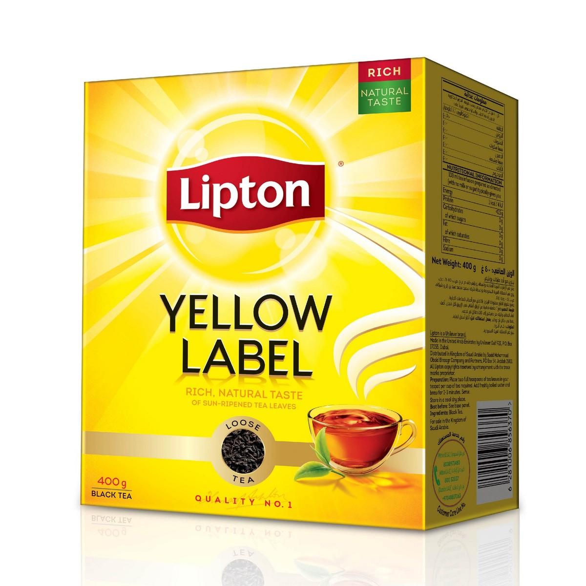 Buy Lipton Yellow Label Black Loose Tea