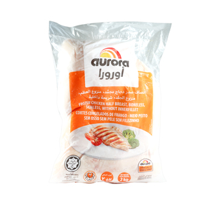 Aurora Half Chicken Breast Boneless 2kg