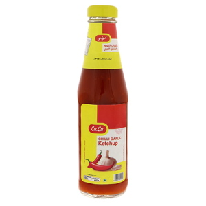 Lulu Chilly Garlic Ketchup 325g