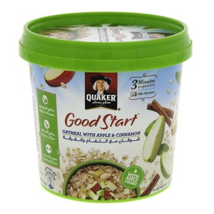 Quaker Good Start Oatmeal with apple & Cinnamon 43g