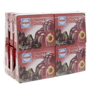 Green's Cherry Jelly 80 Gm x 12's