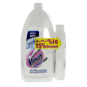 Vanish Stain Remover Liquid For Whites 1.8Litre  +  500ml