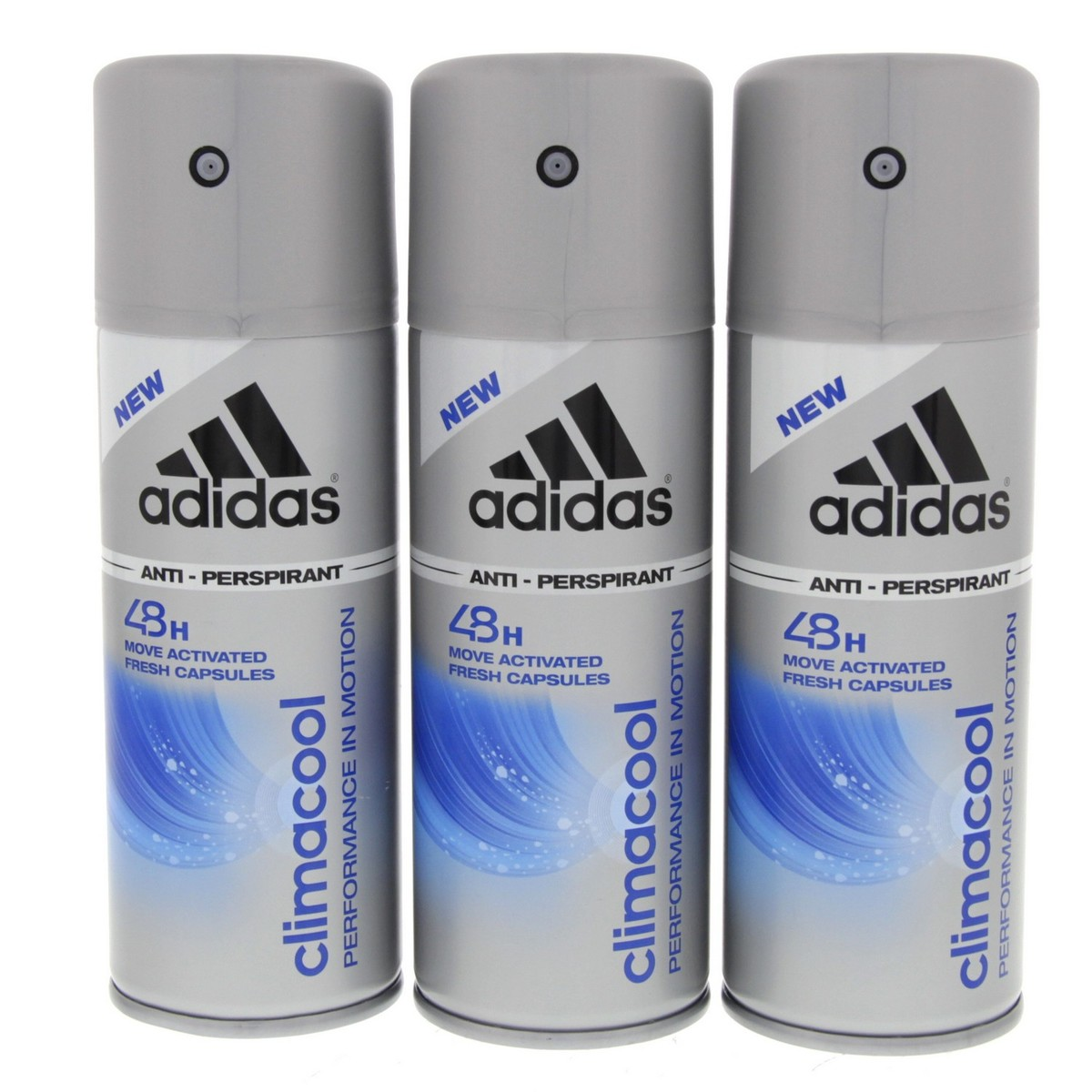 Buy Adidas Deo Body Spray Climacool 150ml x 3pcs Online