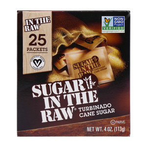 Sugar in The Raw Turbinado Cane Sugar 25pcs 113g