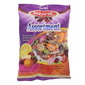 Kent Assortment Soft & Hard Candies 375g