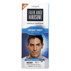 Emami Fair & Handsome Advanced Whitening Instant Boost Face Cream 50ml