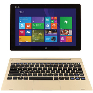 "I-Life 2in1 ZED Book 10.1"" QC Gold"