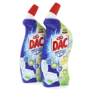 Dac Toilet Cleaner Lemonette Power 2 x 750ml