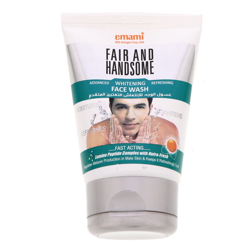 Emami Fair & Handsome Advanced Whitening Refreshing Face Wash 100ml
