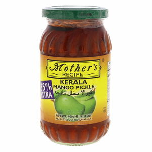 Mother's Recipe Kerala Mango Pickle 300g + 33% Extra