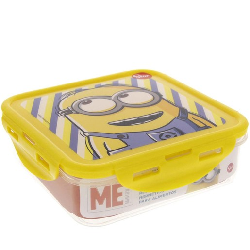 Buy Minons Hermetic Food Container Square 89864 750ml - Lunch Box