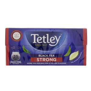 Tetley Drawstring Strong Black Tea 25pc