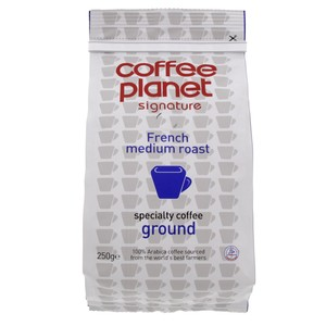 Coffee Planet French Medium Roast 250g