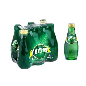 Perrier Natural Mineral Water 6 x 200ml