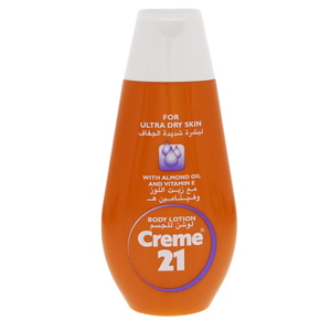 Creme 21 Body Lotion Ultra Dry Skin 250ml