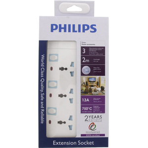 Philips Universal Extension 3Way 2Mtr