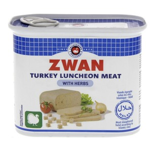 Zwan Turkey Luncheon Meat With Herbs 340g