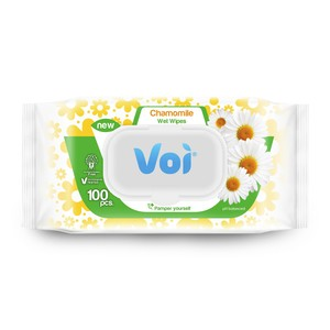 Voi Wet Wipes Chamomile 100pcs