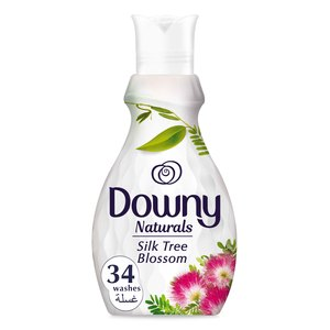 Downy Naturals Concentrate Fabric Softener Silk Tree Blossom Scent 1.38Litre