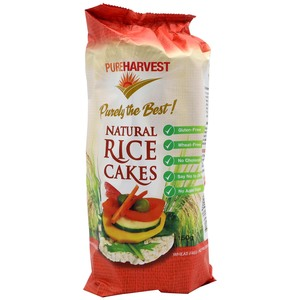 Pure Harvest Natural Rice Cakes 150g