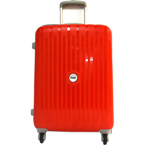 VIP Neolite 4 Wheel Hard Trolley 65cm Red