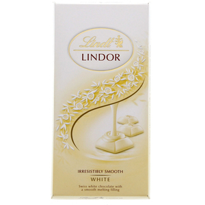 Lindt Lindor White Chocolate 100g