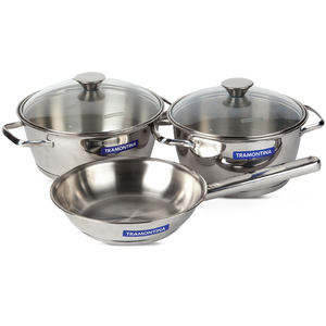 Tramontina Stainless Steel Cookware Set 5pcs